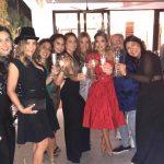 Valentina BIlbao with Beatriz Freites, Karen Abbo, lilita Lizarraga, and Ana Teresa Rodriguez